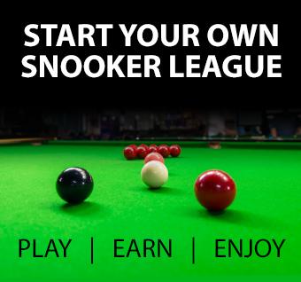 Start your own snooker league - Play | Earn | Enjoy